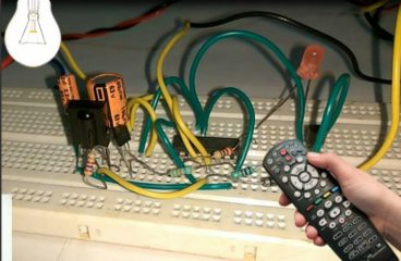 Remote Controlled on off Switch Circuit Diagram