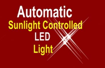 Light Activated Switch using Transistor