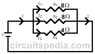 Parellel Connection of Resistor