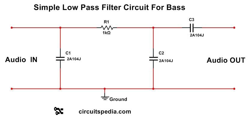 ic 4558 Subwoofer Bass Booster Circuit diagram , bass ...