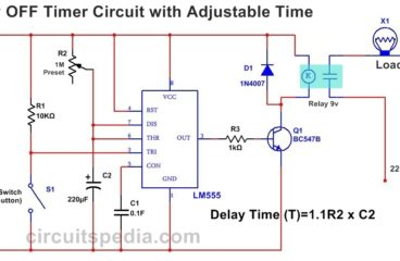 Delay OFF Timer Circuit