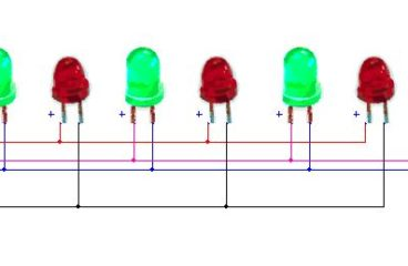 Simple LED Flasher Circuit with 555 timer