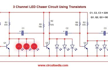 Easy 3 Channel LED Flasher/Chaser
