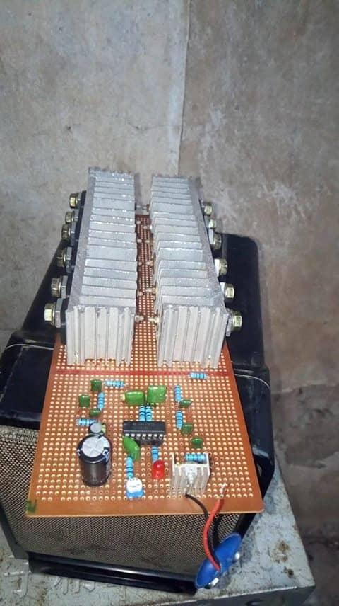 2000w inverter circuit