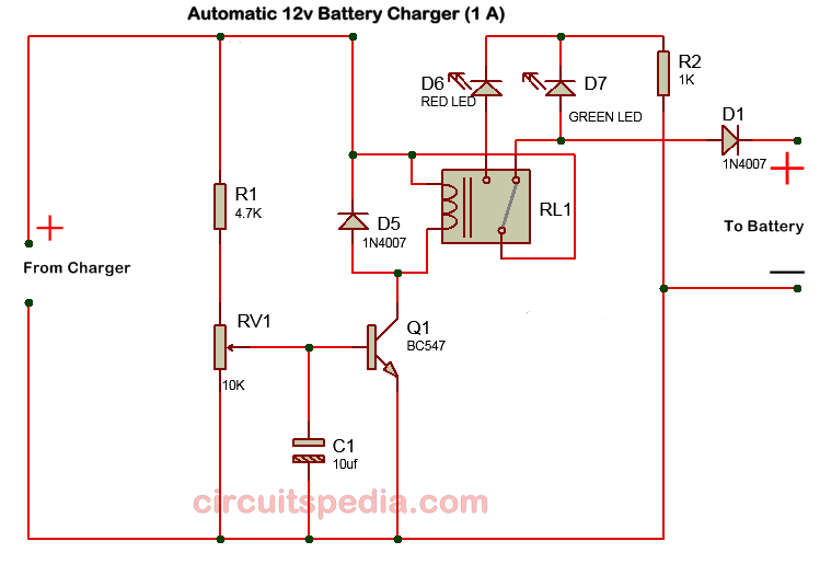 6 Volt Battery Charger Circuit Diagram Pdf