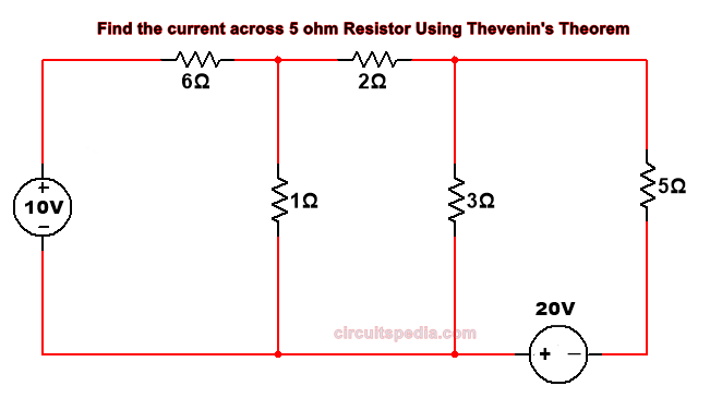 thevenin theorem question