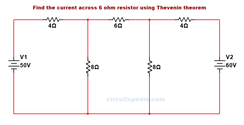 thevenin theorem example