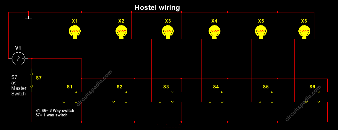 two way switch wiring