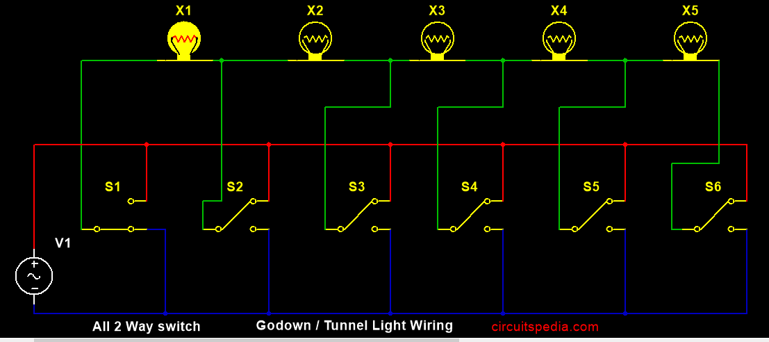 godown wiringtunnel wiring light switch wiring 2 way