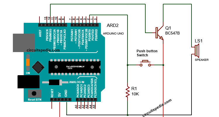 bird tone sound generator using arduino