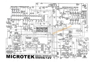 Microtek digital inverter circuit